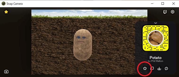 「Potato」で検索。イモになれます。