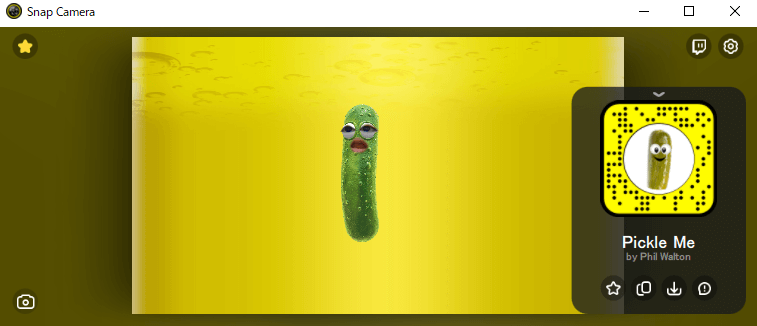 「Pickle Me」で検索